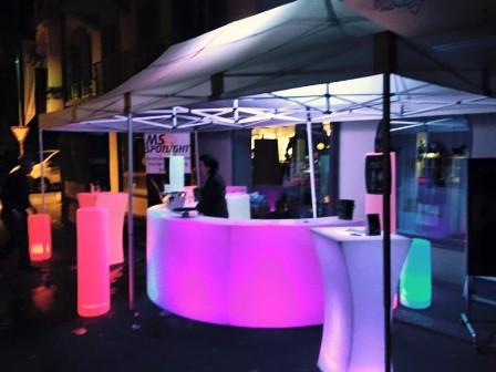 mobile bar am strassenfest mieten eine led bar f r ihr event bei ms spotlight in kriens luzern. Black Bedroom Furniture Sets. Home Design Ideas